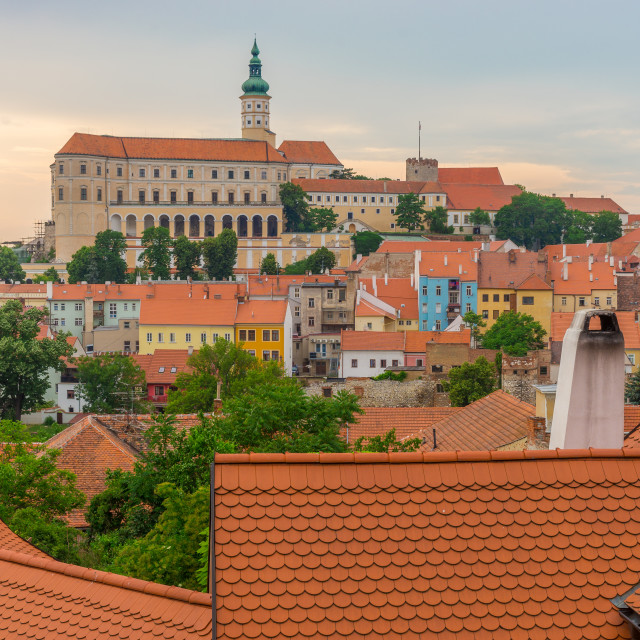 """Mikulov Czech Republic"" stock image"