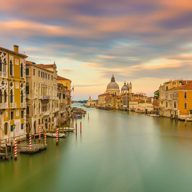 """Venice, Canal Grande"" stock image"