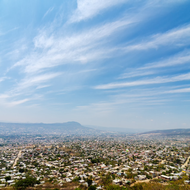 """Tuxtla, Capital of Chiapas, Mexico"" stock image"