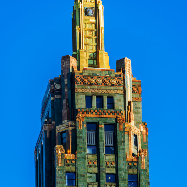 """Carbide and Carbon Building"" stock image"