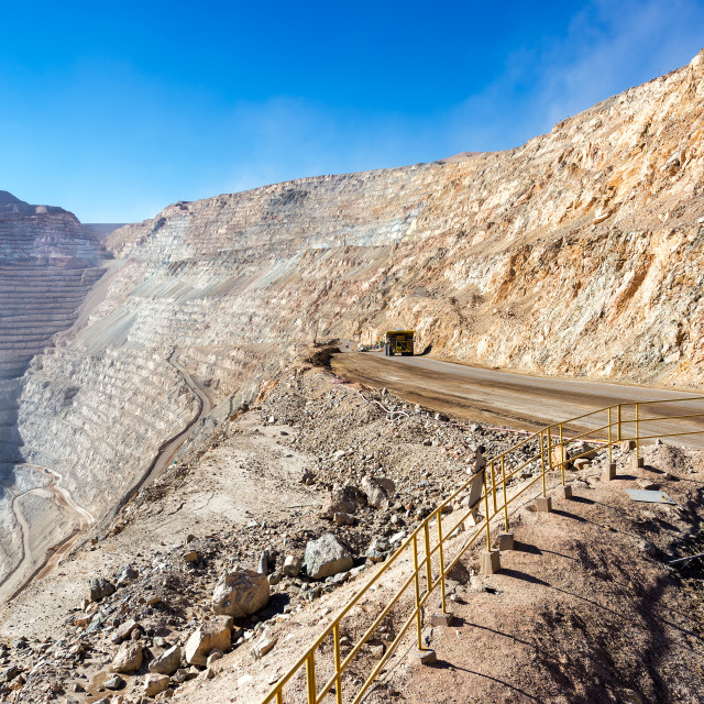 """Chuquicamata Mine"" stock image"