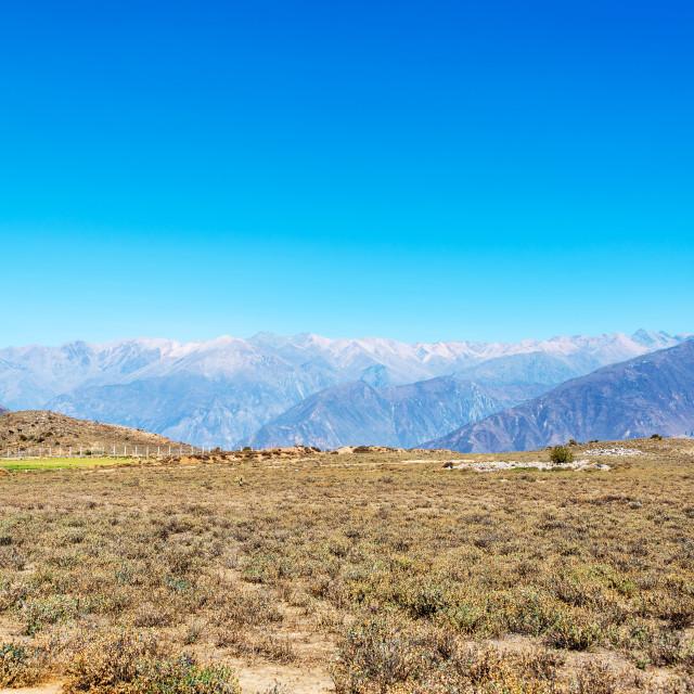 """Colca Canyon Landscape"" stock image"