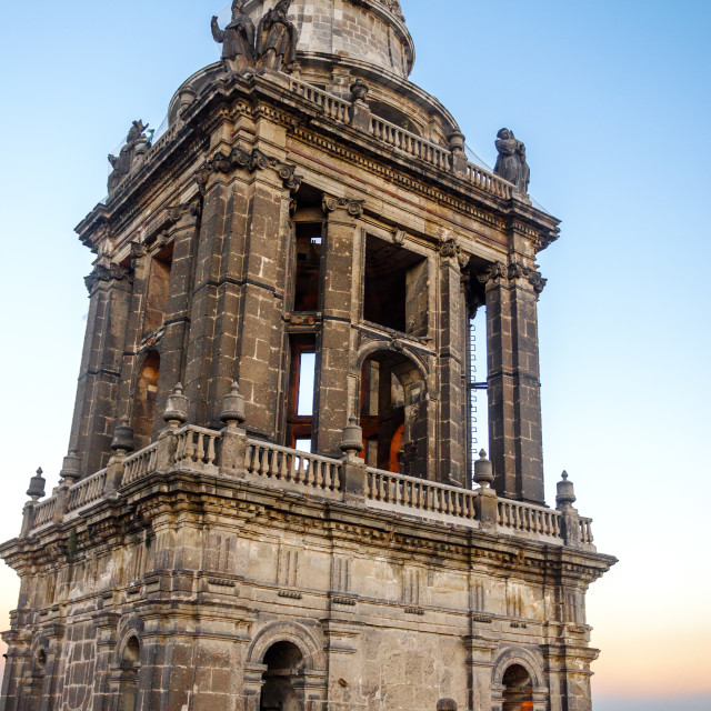 """""""Cathedral Bell Tower"""" stock image"""