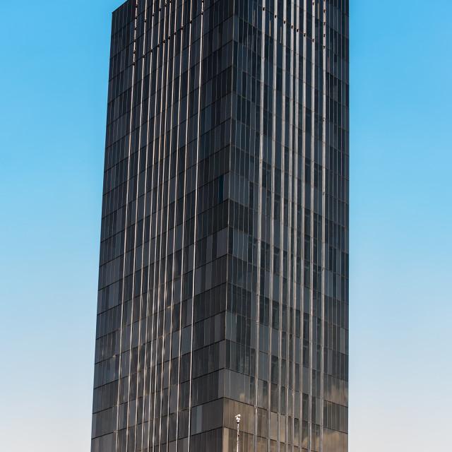 """""""Black Skyscraper"""" stock image"""