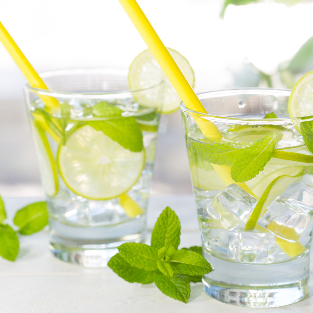"""""""Mojito lime drink cocktail"""" stock image"""