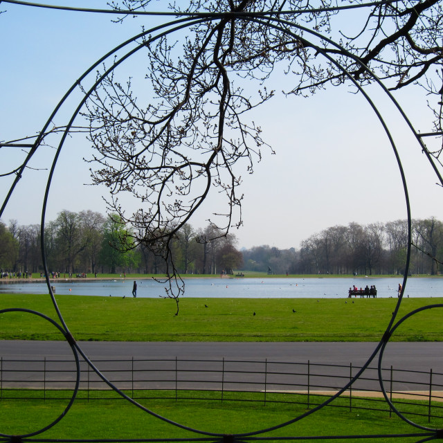 """""""Hyde Park"""" stock image"""