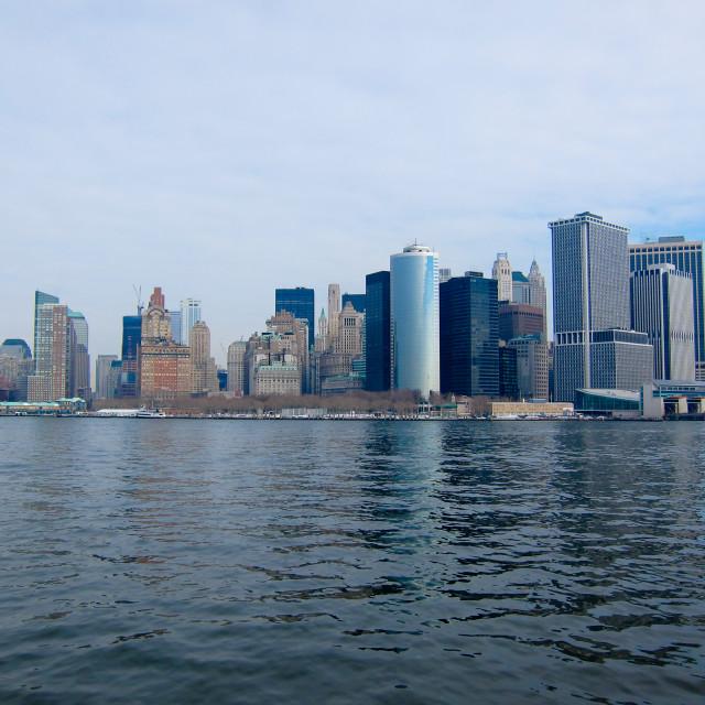 """Manhattan Financial District"" stock image"