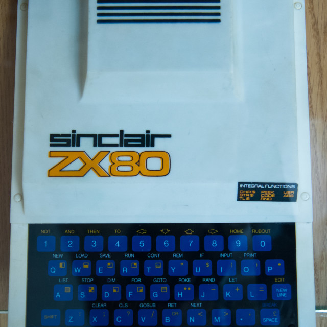 """""""Sinclair ZX80"""" stock image"""