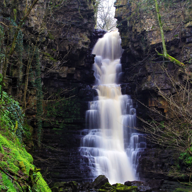"""Mill Gill Force Waterfall"" stock image"