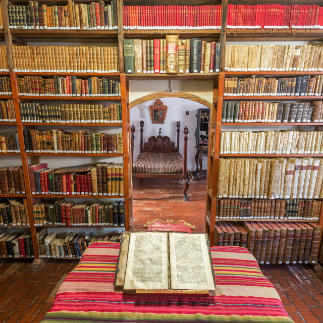"""Old Historic Library"" stock image"