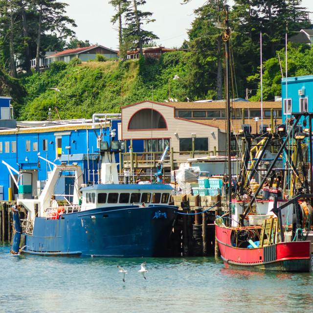 """Newport Waterfront"" stock image"