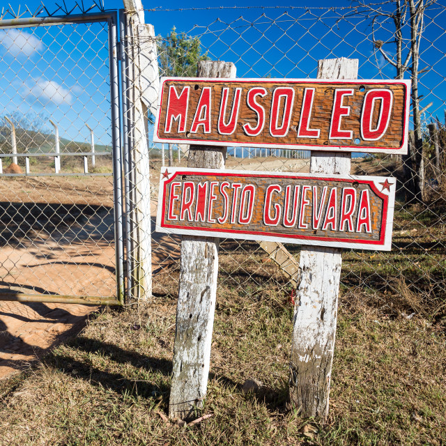 """Che Guevara Mausoleum Entrance"" stock image"