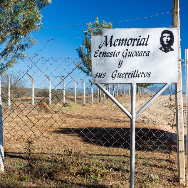 """Entrance to Che Guevara Mausoleum"" stock image"