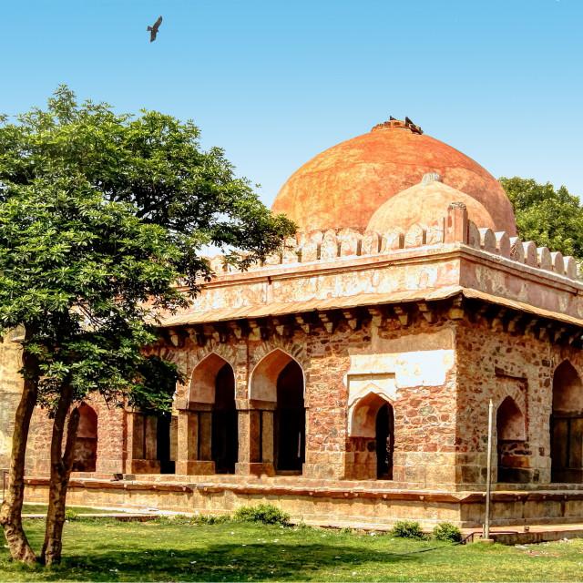 """Barah Khamba or Baradari, New Delhi, India"" stock image"