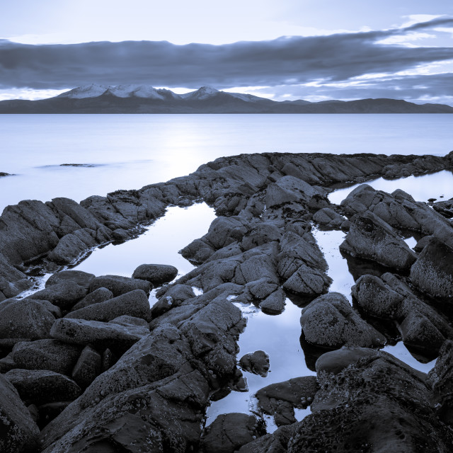 """Arran Blues"" stock image"
