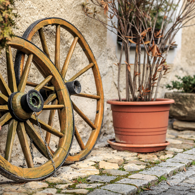 """Cart wheels"" stock image"