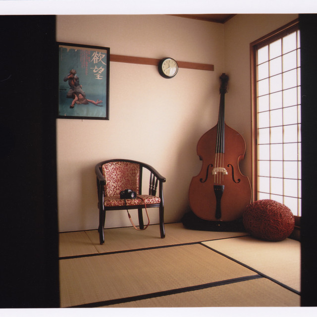 """Retro Japanese room"" stock image"