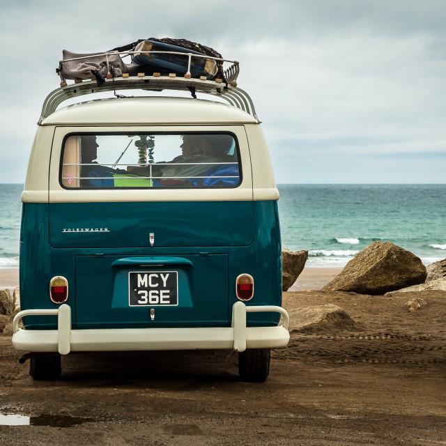 """""""VW Combi bus"""" stock image"""