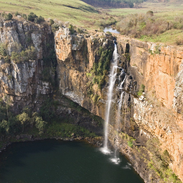 """Berlin falls, South-Africa"" stock image"