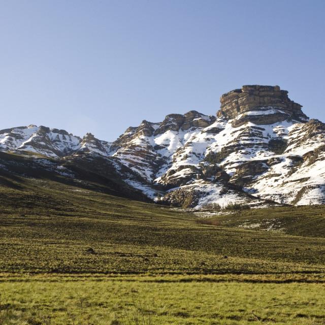 """Drakensbergen, South-Africa"" stock image"