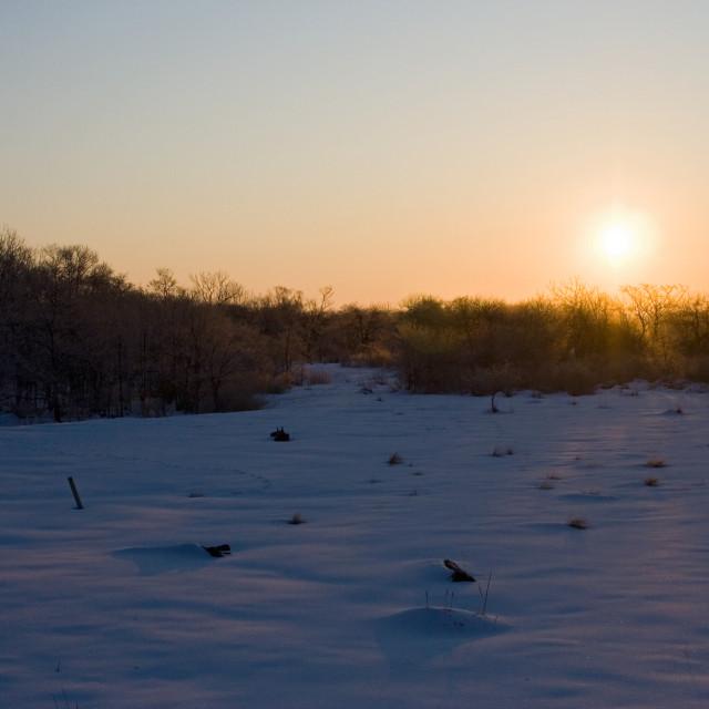 """""""Zonsopkomst, Sunrise"""" stock image"""