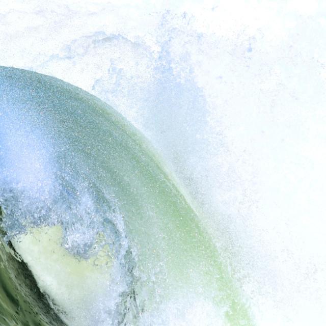 """Wave Impression"" stock image"