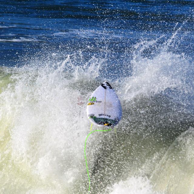"""Runaway Surf Board"" stock image"