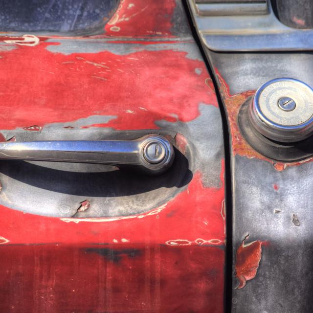 """""""Truck Door Handle"""" stock image"""
