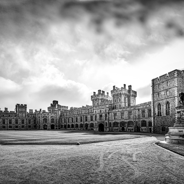"""Windsor Castle"" stock image"