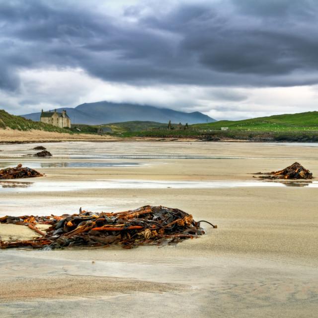 """""""Balnakiel Bay, Scotland"""" stock image"""