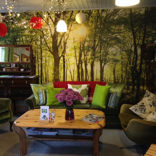 """Scottish Tea Room"" stock image"