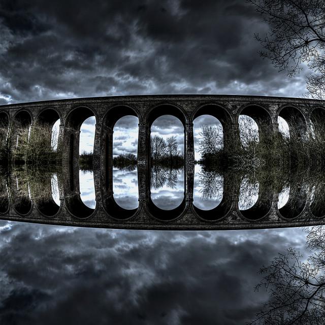 """Chappel viaduct."" stock image"