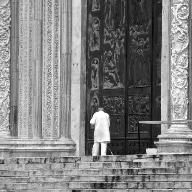 """""""Cathedral Sweeper"""" stock image"""