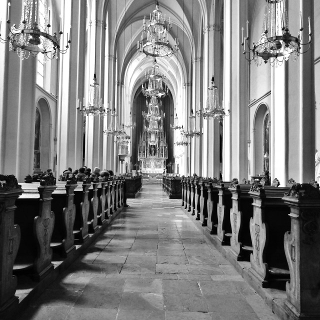 """Augustin Church"" stock image"