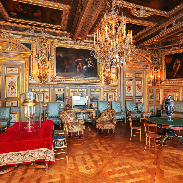 """Paris, France, Versailles palace interior"" stock image"