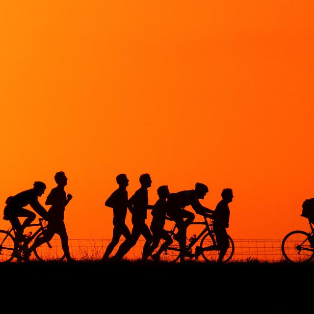 """Fietsen, Cycling"" stock image"