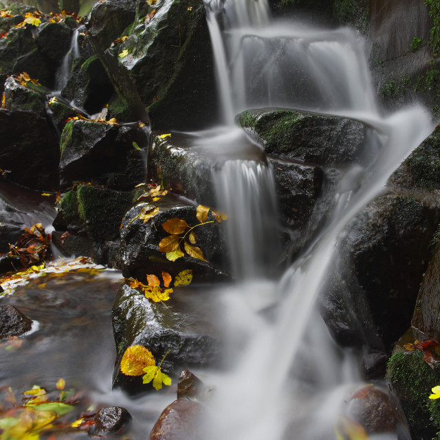 """Little cascade"" stock image"