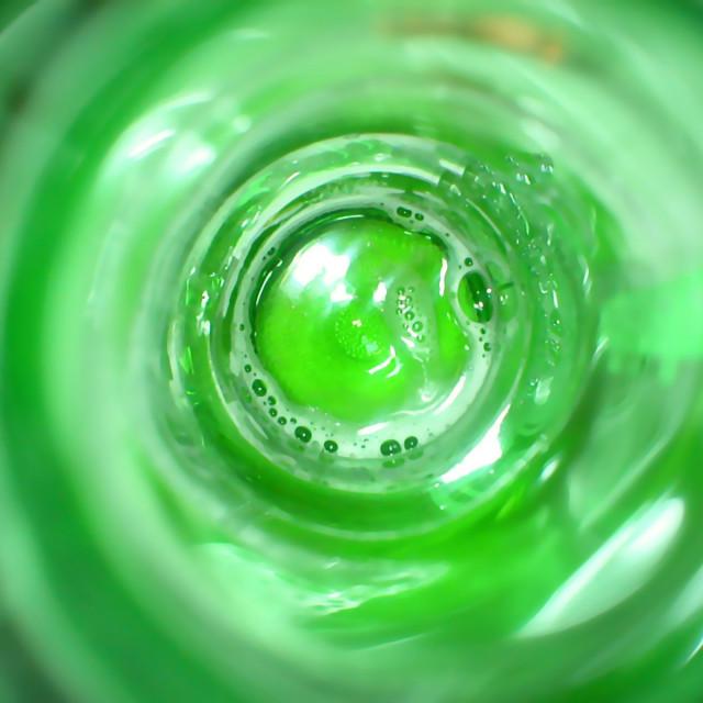 """Glass Half Full"" stock image"