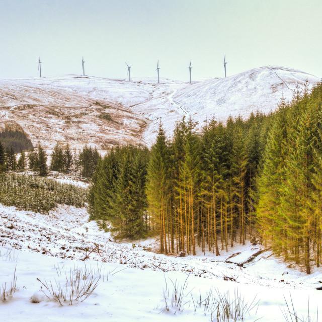 """Glendevon, Scotland"" stock image"