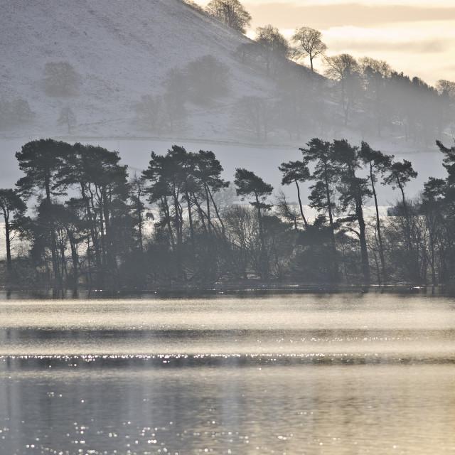 """""""Loch Leven, Scotland"""" stock image"""
