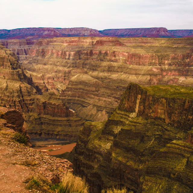 """Grand Canyon West Rim"" stock image"