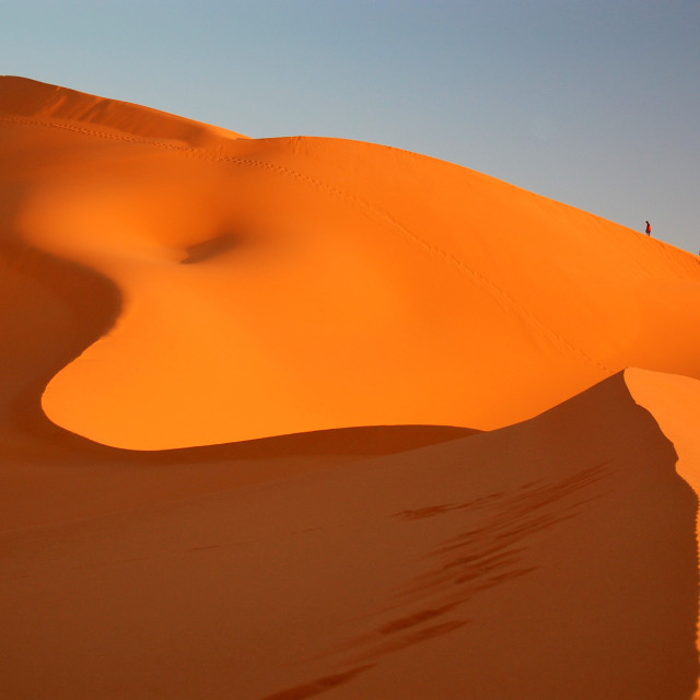"""Evening Dune"" stock image"
