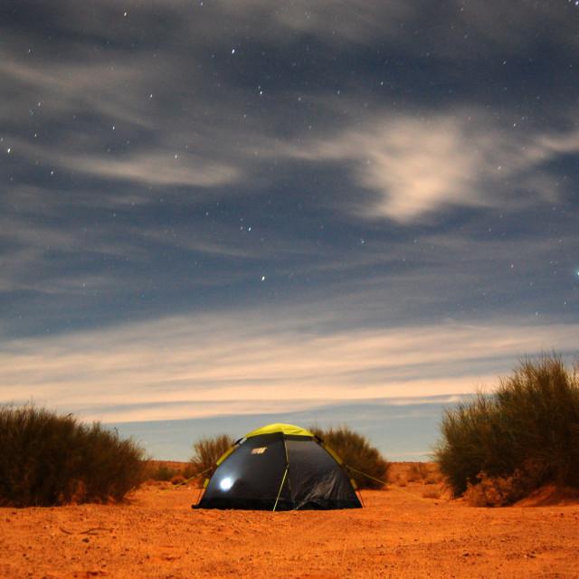 """""""Desert Stars"""" stock image"""