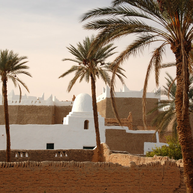"""Calm in Ghadames"" stock image"