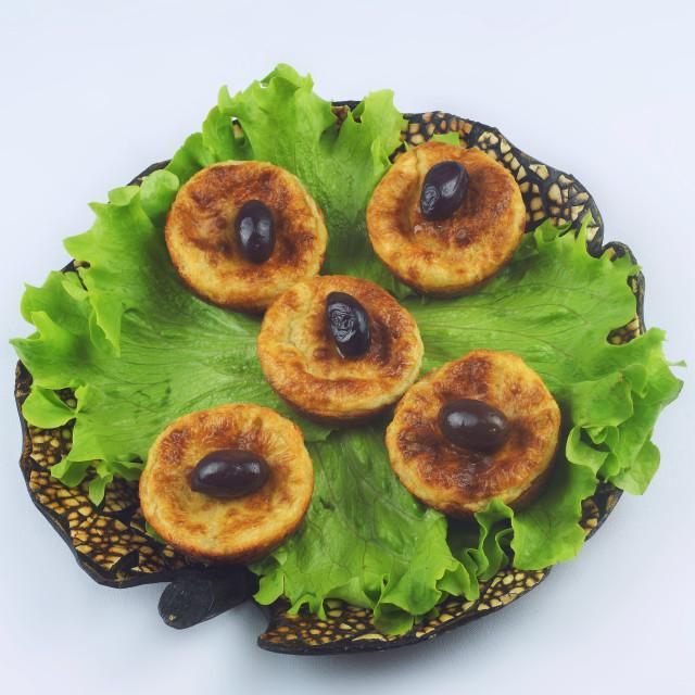 """""""Savory muffins"""" stock image"""