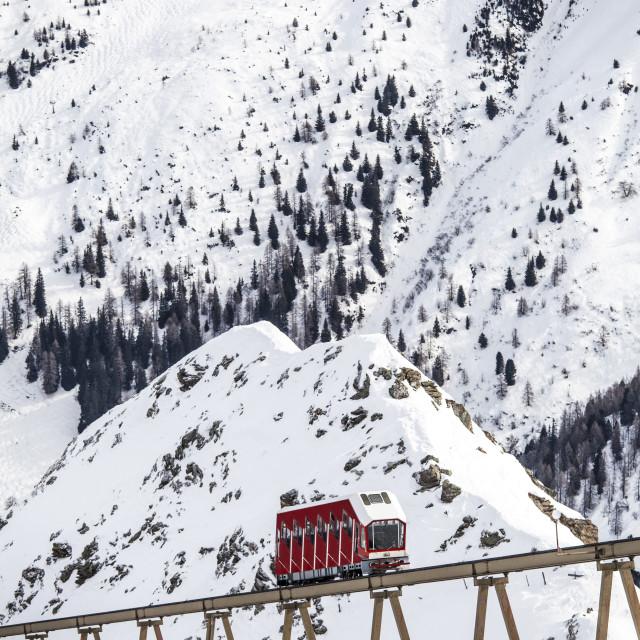 """""""ski station at Innsbruck"""" stock image"""