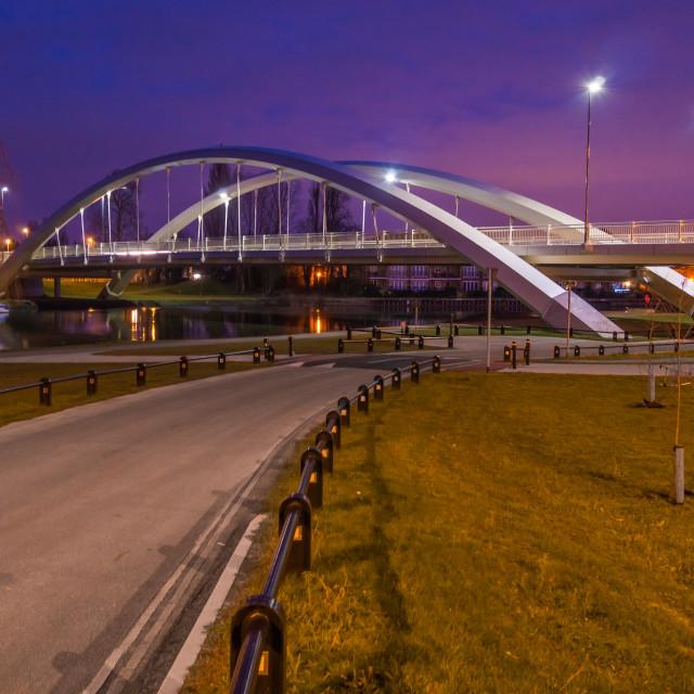 """""""Walton bridge"""" stock image"""
