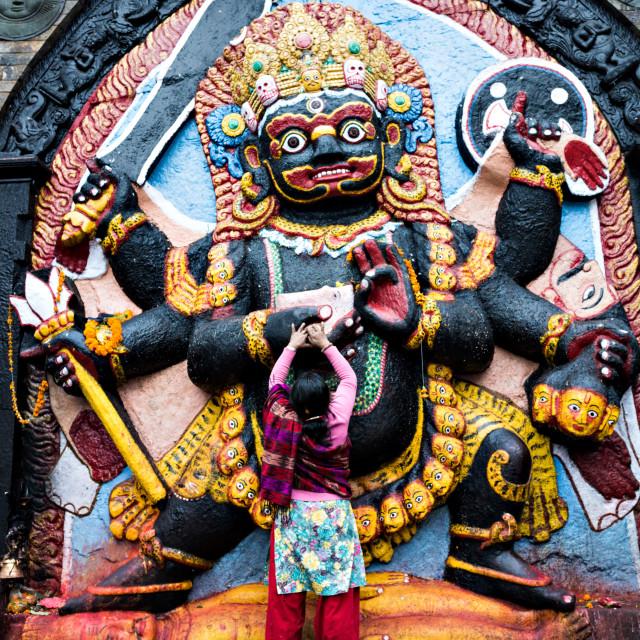 """""""Kaal Bhairaba I"""" stock image"""