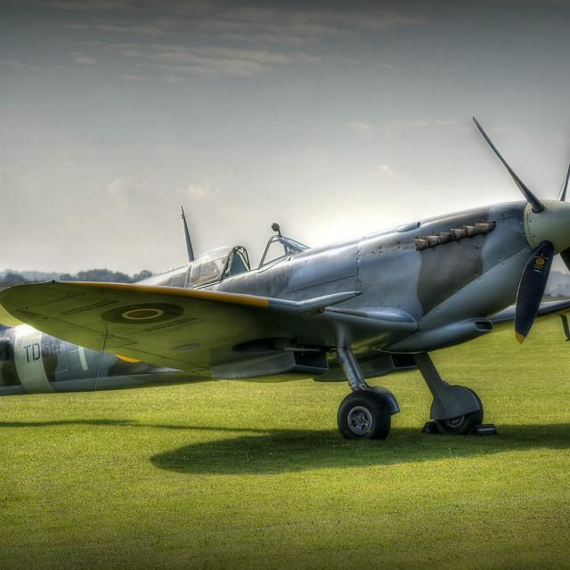 """Mk IX Spitfire"" stock image"