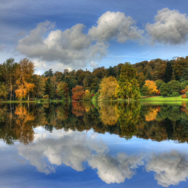 """""""Forever Autumn"""" stock image"""